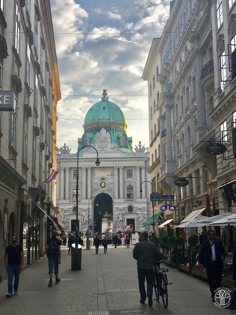 Wien Kohlmarkt Michaelerkuppel (8816)